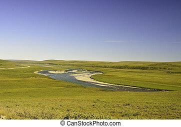 csővezeték, folyó
