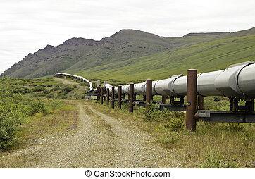 csővezeték, szegély kilátás