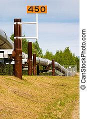 csővezeték, trans-alaskan, olaj