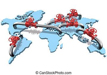 csővezetékek