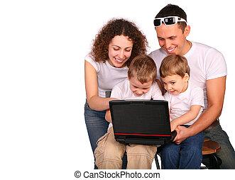 család 4, noha, jegyzetfüzet