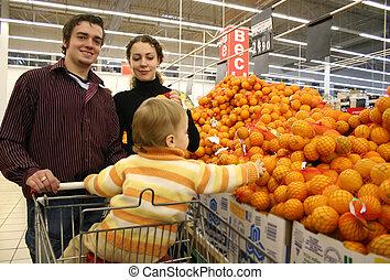 család, alatt, bolt