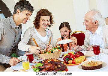 család celebration