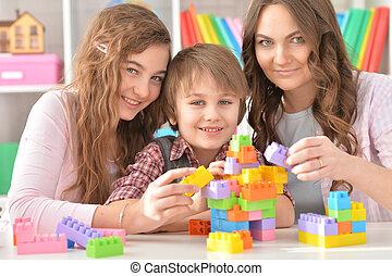 család, játék játék