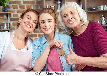 család, közül, 3 nemzedék