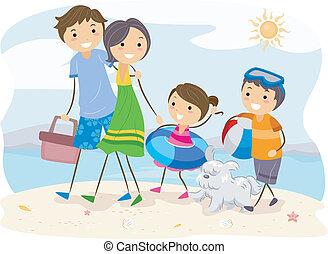 család outing