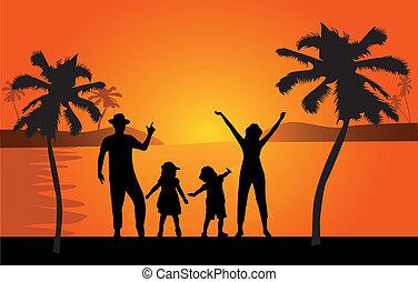 család szünidő