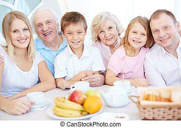 család vacsora