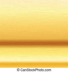 csalit, arany, felszín