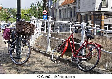 csatorna, ércbánya, bicycles