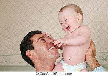 csecsemő, atya