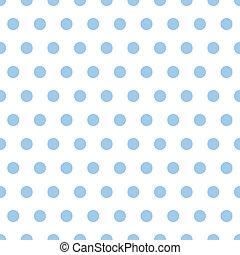 csecsemő blue, polka tarkít