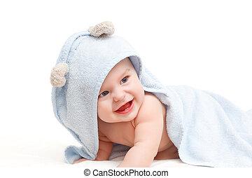csecsemő, csinos