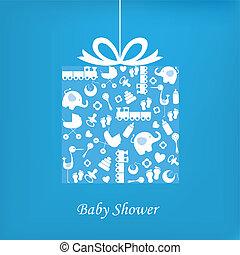csecsemő fiú, születés, kártya
