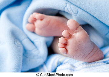 csecsemő lábfej
