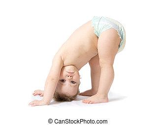 csecsemő lány