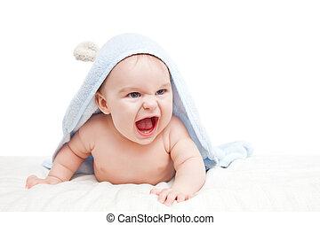 csecsemő, mérges