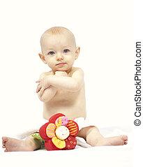 csecsemő, portré