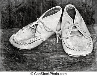 csecsemő, szüret, shoes.