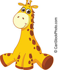 csecsemő zsiráf