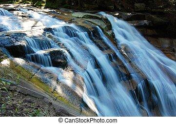 cseh, nemzeti park, vízesés, kr-nap, köztársaság