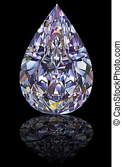 csepp, gyémánt, fekete, alakít, sima