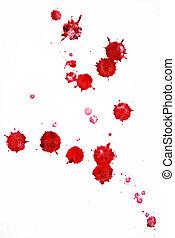 cseppecskék, vér