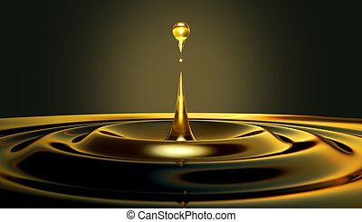 cseppecske, olaj