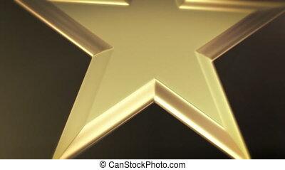 csillag, arany, adományoz