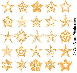 csillag, gyűjtés