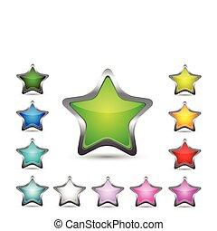 csillag, ikonok