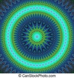 csillag, tél, tervezés, hideg, mandala, fractal