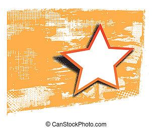 csillag, tervezés elem
