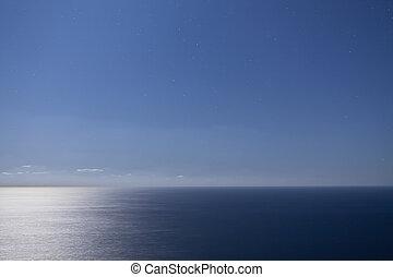 csillaggal díszít, és, óceán