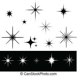 csillaggal díszít