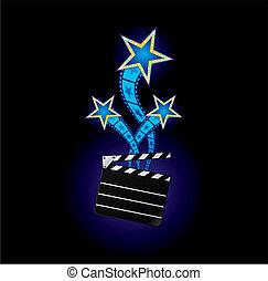 csillaggal díszít, mozi