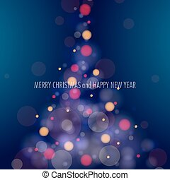 csillogó, karácsonyfa