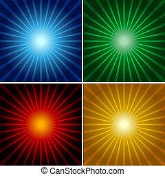 csillogó rays