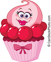 csinos, cupcake