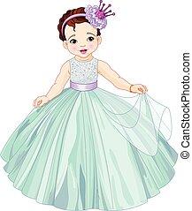 csinos, kicsi hercegnő