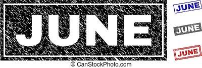 csiszolt, grunge, topog, június, téglalap