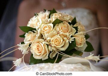 csokor, esküvő