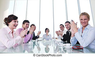 csoport ügy emberek, -ban, gyűlés