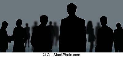 csoport, ügy emberek