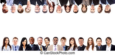 csoport ügy emberek