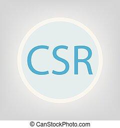 CSR (Corporate Social Responsibility) concept