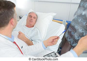 ct scan in modern hospital