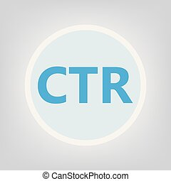 CTR (Click-through rate) acronym