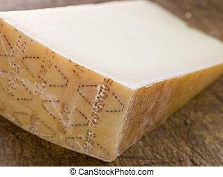 cuña, queso, parmesano
