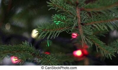 CU of christmas tree